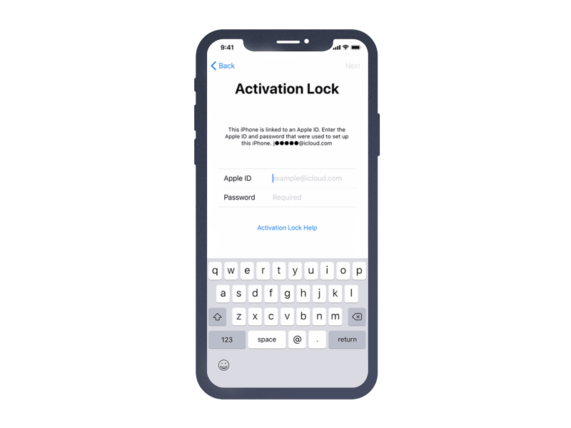 apple activation lock